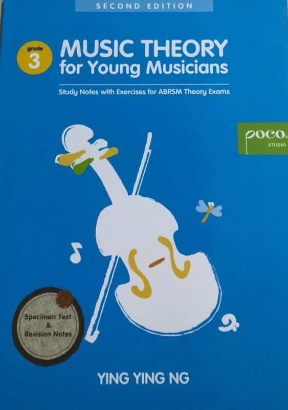 Poco Music Theory For Young Musicians Grade 3, Third Edition Malaysia