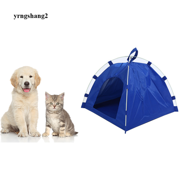 Lều Giường Cho Chó Thú Cưng Gấp Gọn Tiện Dụng Lều Ngoài Trời Trong Nhà Cho Mèo Không Thấm Nước