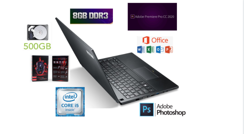 Acer i5 5th generation ultra slim laptop with back light keyboard Malaysia