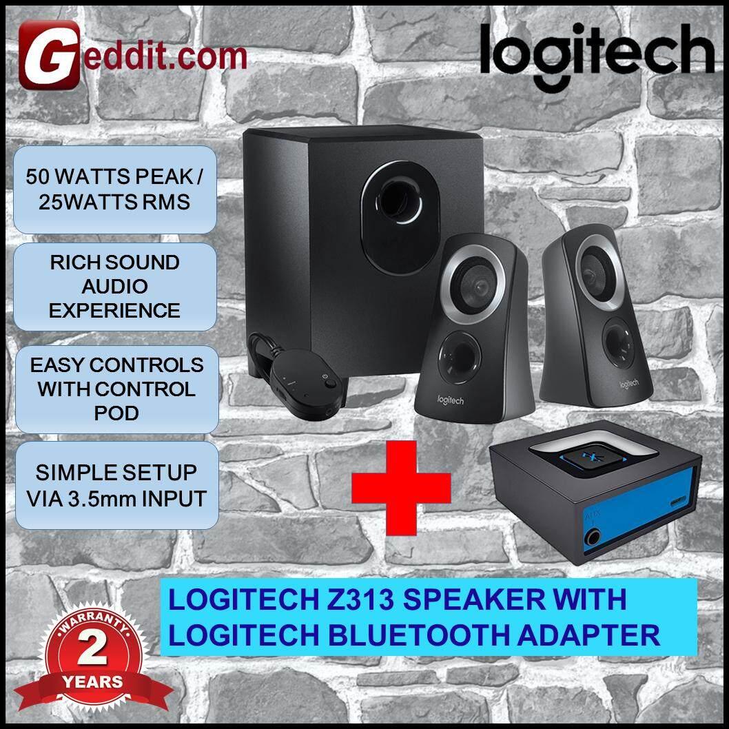 LOGITECH Z313 SPEAKER + LOGITECH BLUETOOTH ADAPTER Malaysia