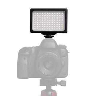 Đèn LED Video, Bảng Đèn LED Có Thể Điều Chỉnh Độ Sáng 3200K-5600K Đèn Lấp Đầy Chụp Ảnh Cầm Tay Với Bộ Chuyển Đổi Giày Nóng Và Lỗ Vít 1 4 Inch Để Chụp Ảnh Đám Cưới Phát Trực Tiếp Chân Dung Quay Video thumbnail