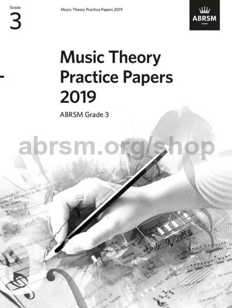 ABRSM Music Theory Practice Papers 2019 Grade 3 / Theory Paper / Theory Exam Paper / Theory Past Year Paper / Past Paper Malaysia