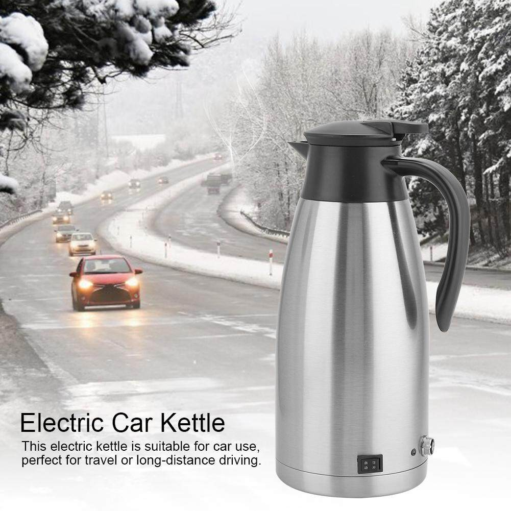 Yiitoo 1.8L 24V Portable Car Electric Kettle Water Heating Cup Mug for Travel Driving Use