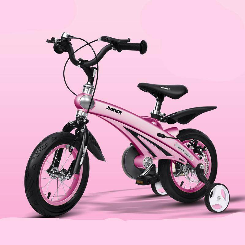 7d28a5a481a Kids Bike with Training Wheels for 16 inch with Adjustable Handlebar and  Seat,for Ages
