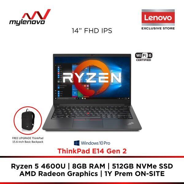 Lenovo ThinkPad E14 Gen 2 AMD Ryzen 5 4600U 8GB 512GB SSD Malaysia