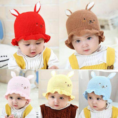 a64079fc9 (childrenhouse) Trendy Kids Unisex Toddler Baby newborn Geometry Imitation  Wool Warm Beret Beanie Hat