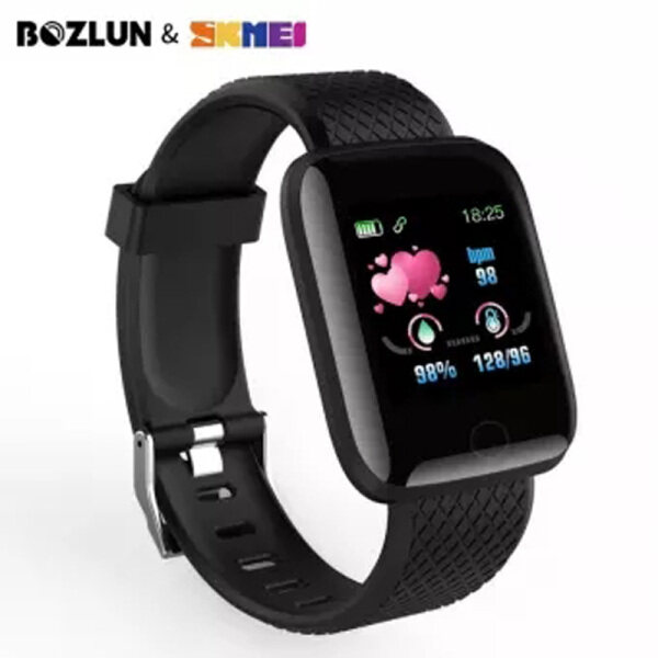 SKMEI BOZLUN New Smart Digital Watch Body Temperature Waterproof Wristwatch Fashion Sport Watches 116 Plus Malaysia