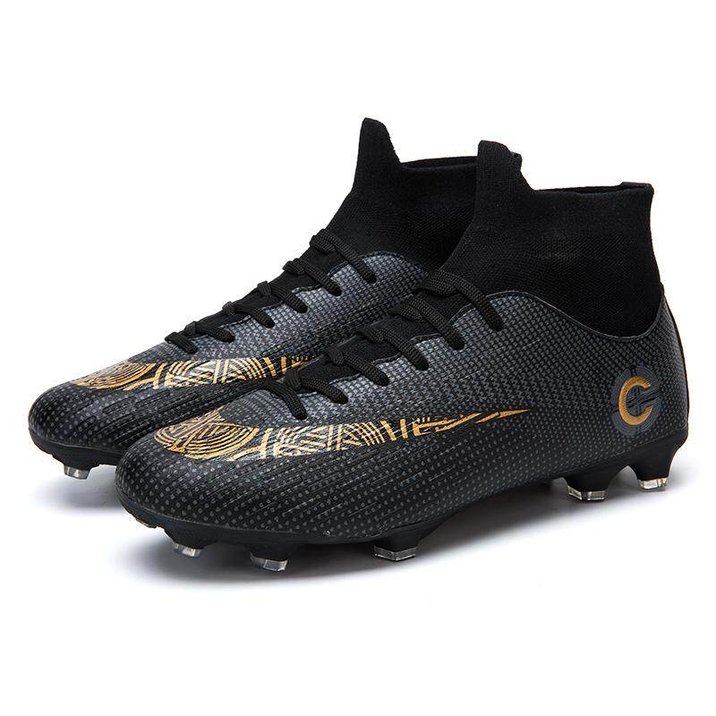 1577005e3 Men Soccer Shoes Football Boots Waterproof Soccer Cleats Boot Shoes Sports  Shoes Outdoor Indoor Soccer Training