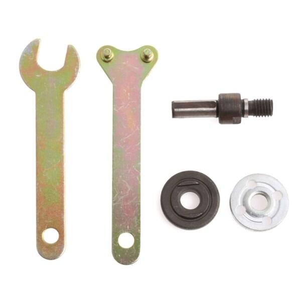 Durable Angle Grinder Tool Parts Spanner Kit Mandrel Adapter Disc Holder