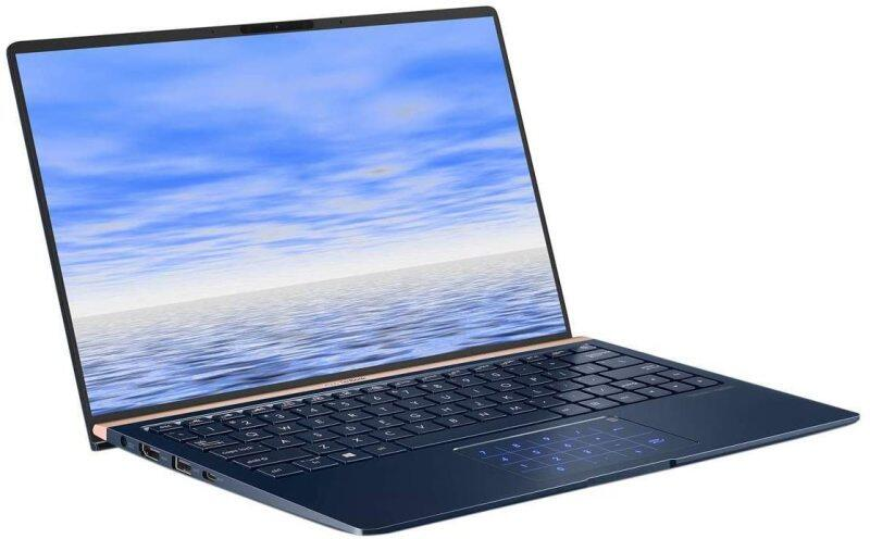 ASUS ZenBook 13 Slim Durable Laptop 13.3 in FHD Wideview, Intel Core i7-8565U Up to 4.6GHz, 16GB RAM, 512GB PCIe SSD + TPM Security Chip, Numberpad, Windows 10 Pro, UX333FA-AB77, Royal Blue Malaysia