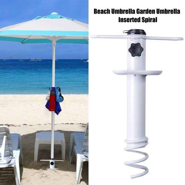 Beach Grass Auger Portable Heavy Duty Wind Protection Garden Outdoor Universal Iron Umbrella Sand Anchor