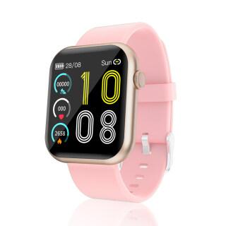 SENBONO Đồng hồ thông minh R3L, màn hình 1.3 inch, chống nước, pin 180mAH,dây đeo 20mm bằng silicon, đa chức năng, giá siêu tốt - INTL thumbnail