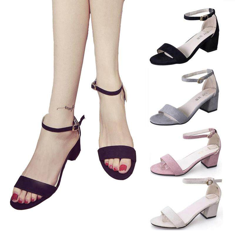 Women Sandals High Heels Shoes Elegant Thick High Heels By Jointop.