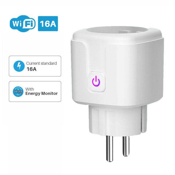 Bảng giá Ổ Cắm Điều Khiển Từ Xa Ứng Dụng IHATZMS, Ổ Cắm EU Ổ Cắm Điện Thông Minh Gia Đình Thông Minh Màn Hình Nguồn Ổ Cắm WiFi Thông Minh Phong Vũ