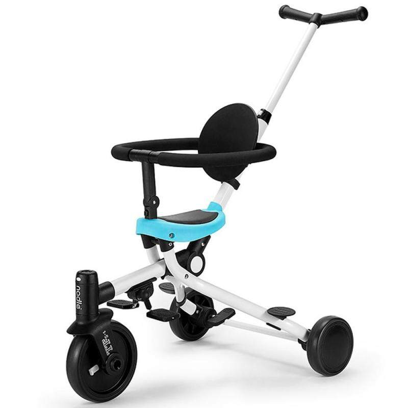 EterSummer 2 In-1 Baby Folding Tricycle Trolley Light Two-way Stroller Multi-function Childrens Balance Trolley Singapore