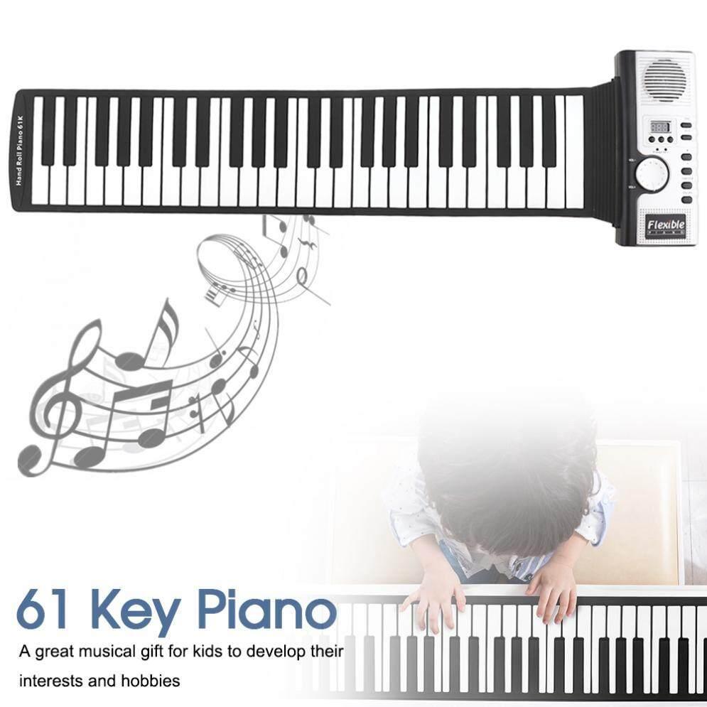 SLADE 61 Phím Điện Tử Di Động Silicone Cuộn Lên Đàn Piano Tích Hợp Loa MIDI Ra Bàn Phím Đàn Organ