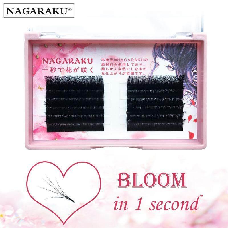 1bb5f854fcc China. NAGARAKU auto bloom lashes Premade Russian Volume Fans Mink Eyelash  Extensions Easy to fans lash 0.03