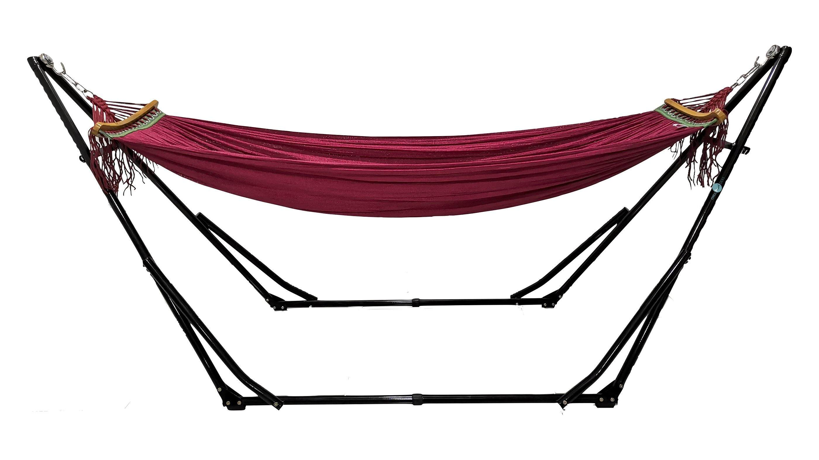 Chillmocks Portable & Foldable (indoor & Outdoor) Hammock With Stand By Awesome Trading.