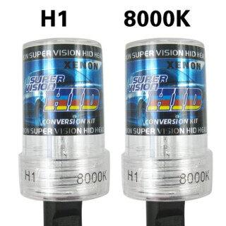 2 Chiếc Đèn Xenon HID 12V 35W H1 8000K Chống Nước, Thay Thế Đèn Pha Ô Tô thumbnail