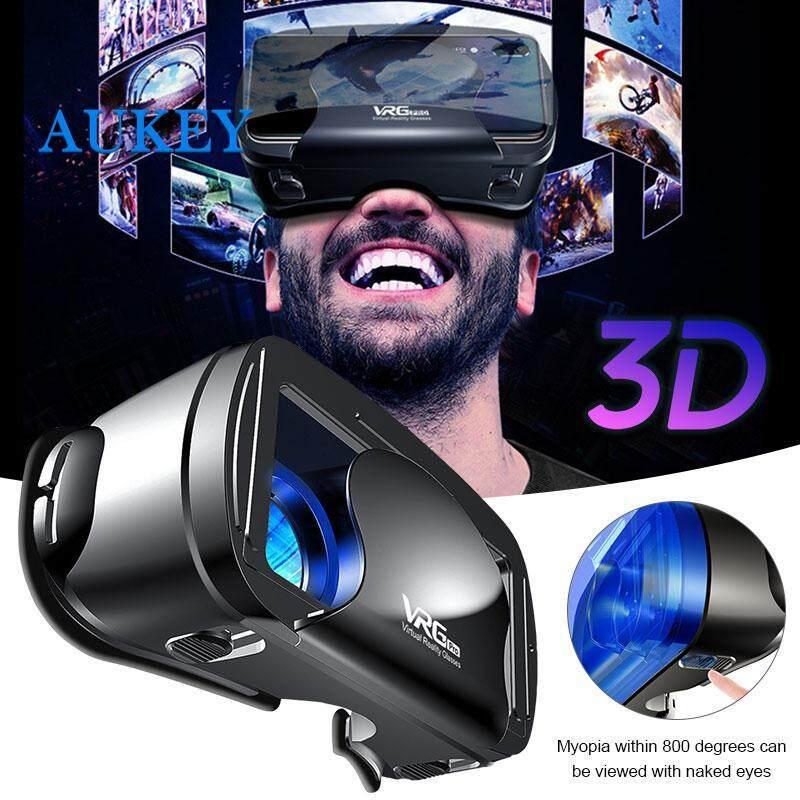 Deal Ưu Đãi Kính Thực Tế Ảo Tai Nghe VR Kính 3D Kính VR Phổ Thông Vrg Pro Ống Kính Phi Cầu Gắn Trên Đầu Điều Chỉnh Tiêu Cự Du Lịch Trang Chủ Điện Thoại Di Động 5 ~ 7 Inch Điện Thoại Thông Minh Phim 3D Trò Chơi