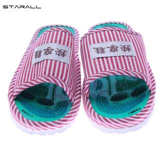 Giày Bấm Huyệt StarALL Dép Mát Xa Chân Cho Nam Nữ, Xăng Đan Châm Cứu Đeo Chân Có Sọc thumbnail