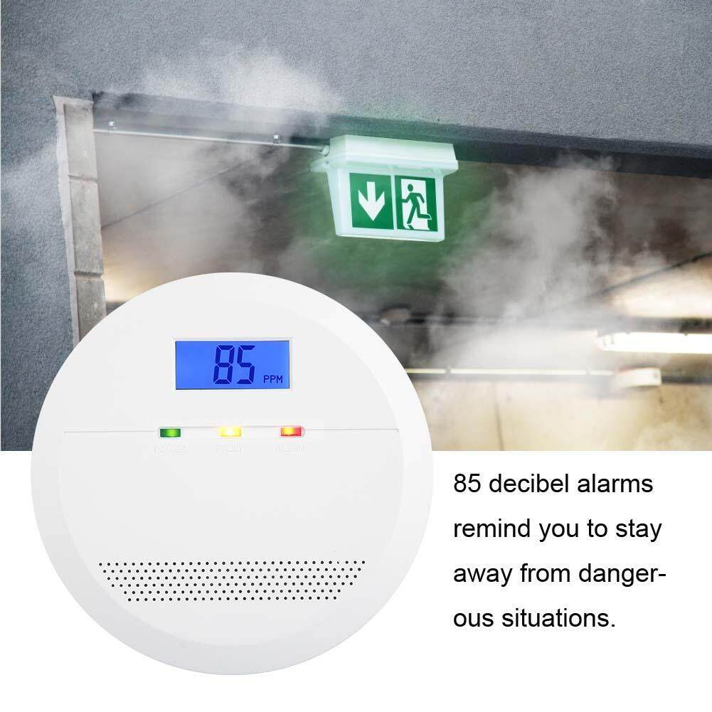 Intelligent Voice LCD Carbon Monoxide Alarm Detector Tool (Exclude Battery)