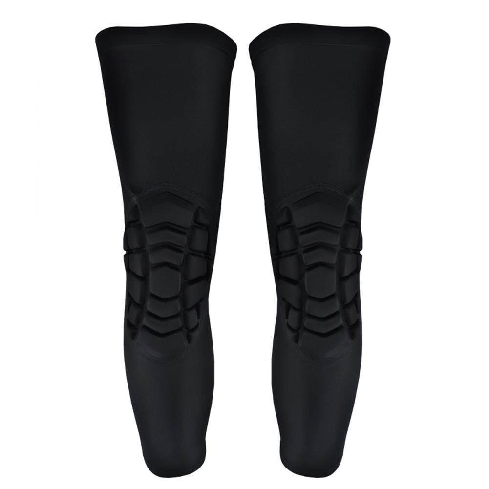 [Lightnice] 1 Pasang Bantalan Lutut Yg Tahan Pukulan Legging Bola Basket Sarung Pelindung Lutut