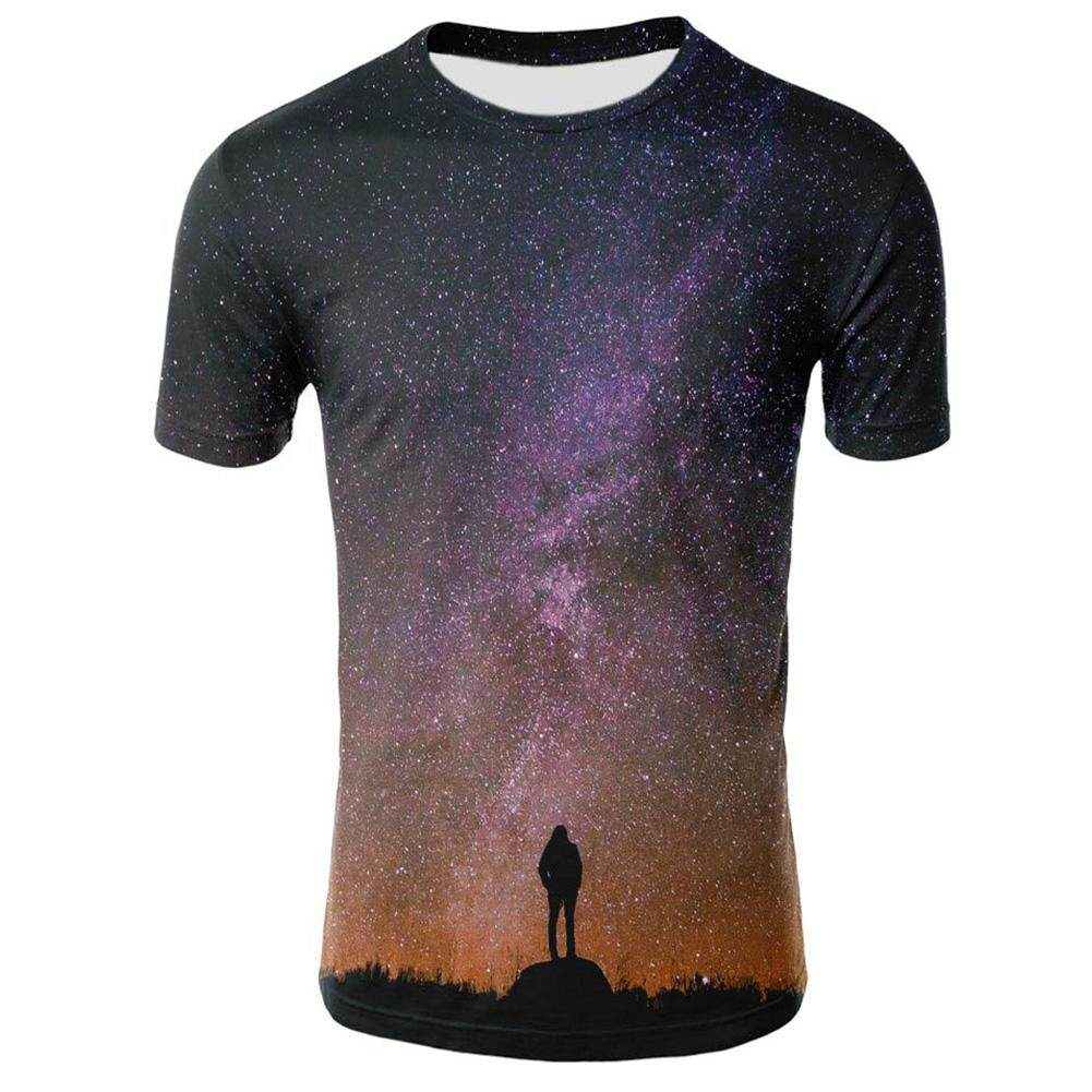 5e242737f128 Supermall Unisex 3D Digital Printed Short Sleeve Breathable T-shirts  Fashion Clothes