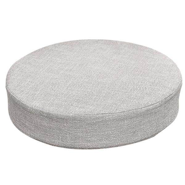 ZGFC68HSA Cattail Hassock Round Linen Cushion Pillow with Removable Seat Chair for Cover Office Home Sofa