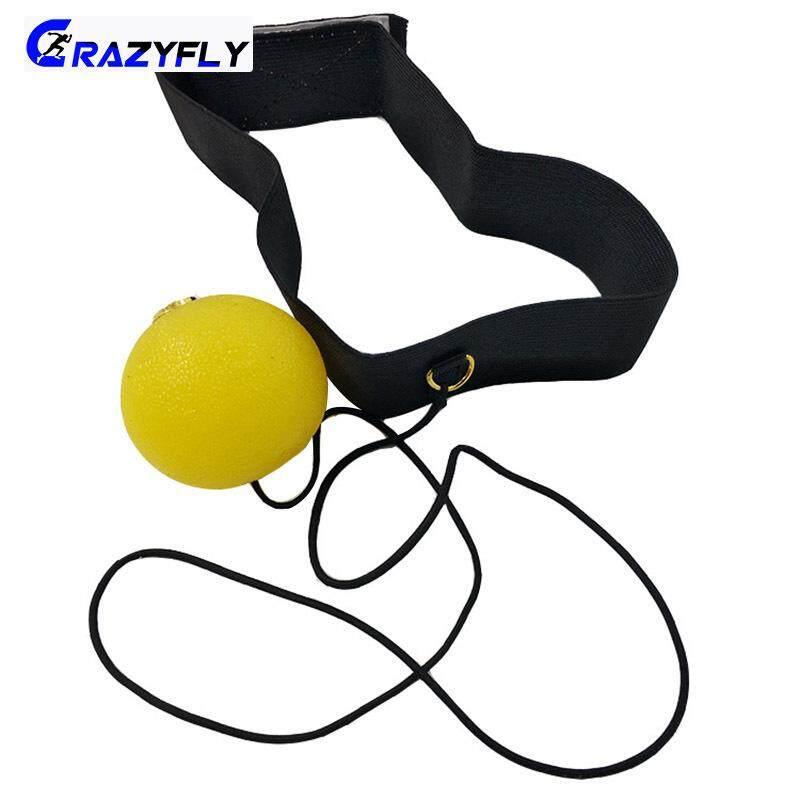 Crazyfly ซิลิโคนการชกมวย Reaction Ball นักมวยความเร็วการฝึกอบรมไฟดิสโก้สำหรับกีฬาฟิตเนส By Crazyfly.