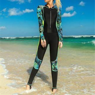 Sbart Bộ Đồ Lặn Bằng Vải Lycra Chống Tia UV Cho Nữ Lặn Toàn Thân thumbnail