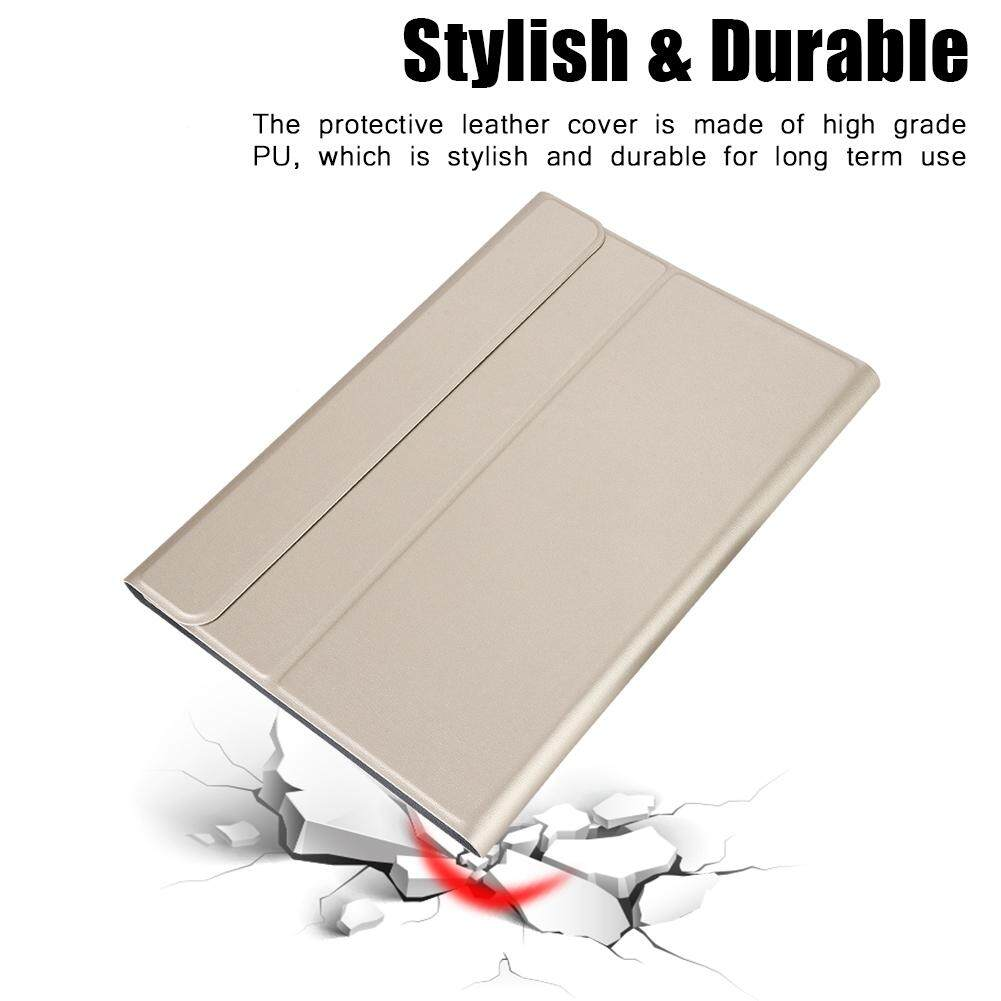 Detachable 2-in-1 Bluetooth Keyboard+Leather Protective Case Cover For iPad pro 10.5 Tablet Malaysia
