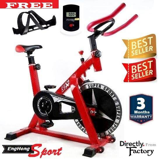 SEJIAN Deluxe Version Indoor Exercise Bicycle Dynamic Cardio Spring Exercise Bike
