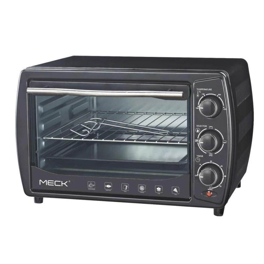 Meck Electric Oven 19L Heat selections up to three (Upper,Lower,Both) MOV-TS20