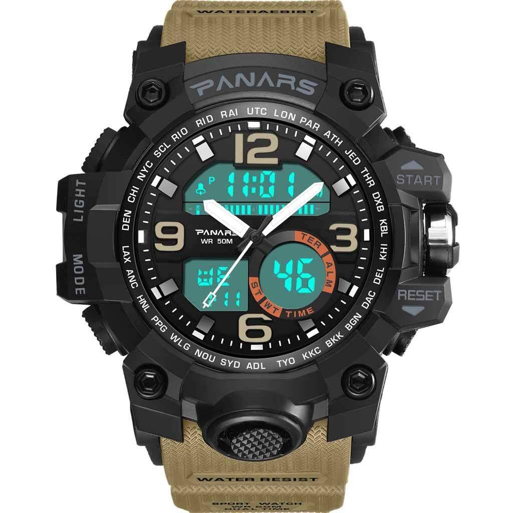 Sports Watches PANARS Commemorative Edition Multi-function Waterproof Watch Electronic Watch Malaysia