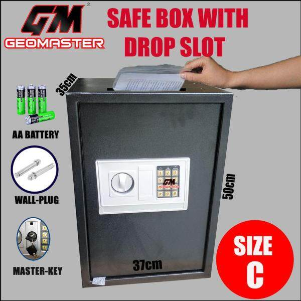 GM-50EK SAFE BOX WITH DROP SLOT / SAFETY BOX WITH DEPOSIT SLOT