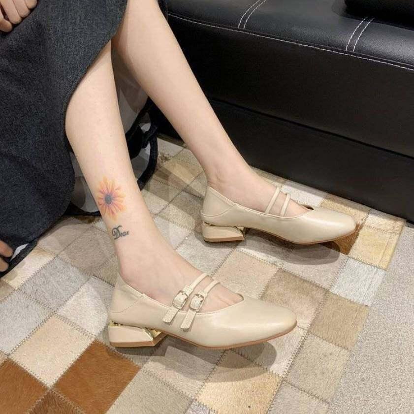 Giày Nữ Mary Janes Cổ Điển Giày Bé Gái Giày Đi Học Giày Búp Bê Cho Nữ Giày Ba Lê Đế Bằng Cho Nữ Giảm Giá 090112 giá rẻ