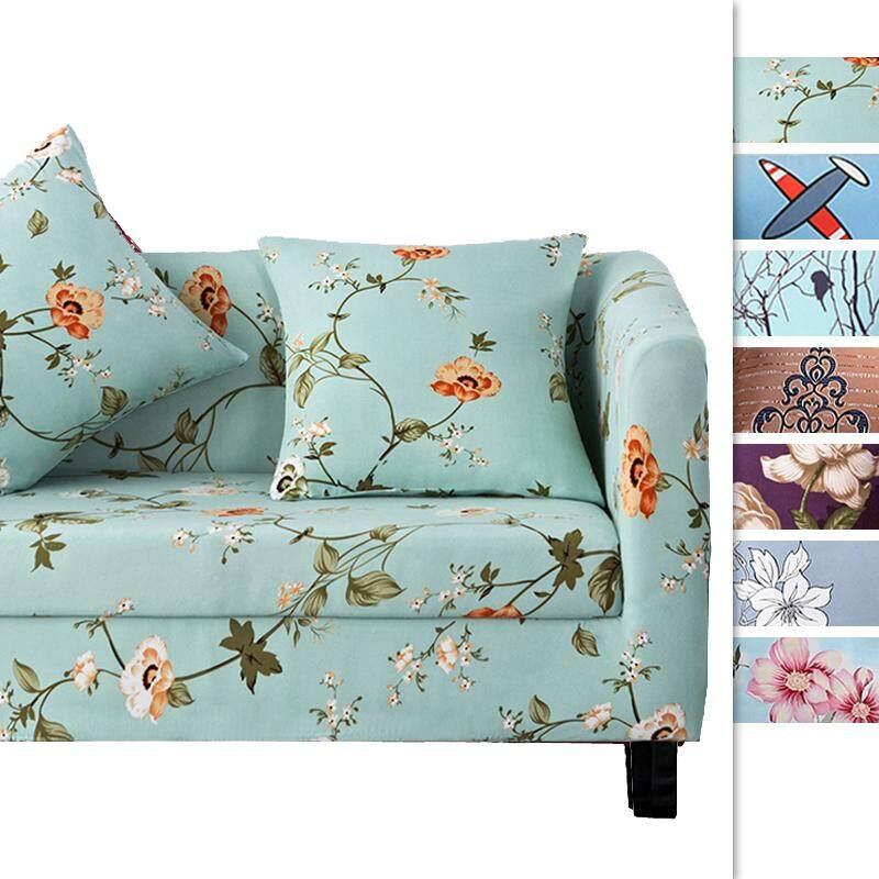 【Slipcover L Size】Sofa Chair Cover Slipcover for 3 Seater (Length Range for 180-220cm/70.86-86.61)