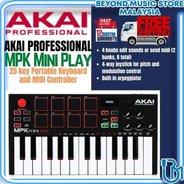 Akai MPK Mini Play Professional 25 key Portable Keyboard and MIDI Controller Malaysia