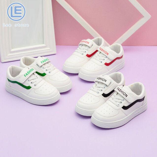 LS Giày Thể Thao Trẻ Em Mới 2020, Giày Trắng Mẫu Thu Đông Giày Đế Bằng, Giày Thể Thao Học Sinh giá rẻ