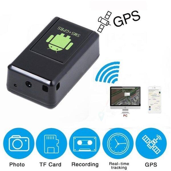 GF07/GF21gps Tracker Mini GPS Thời Gian Thực Cho Xe Ô Tô Tracker Điều Khiển Bằng Giọng Nói Ghi Âm Định Vị Độ Nét Cao Microphone WIFI + LBS + GPS Pos