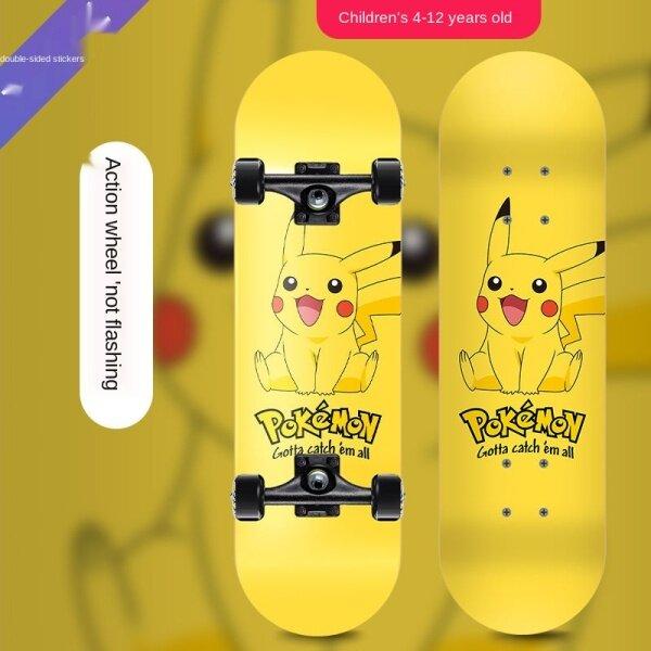 Giá bán Trill Skateboard, Cọ Hai Mặt Cho Bé Trai Và Bé Gái Mới Bắt Đầu Bốn Bánh Cho Người Lớn Xe Trượt Ván Đường Phố Trẻ Em