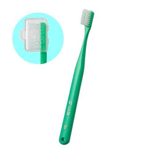 Oral Care Tuft 24 Toothbrush (With Cap) S 25 Count Green