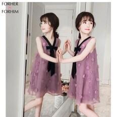 Forsher FORHIM Váy Cho Bé Gái Mùa Hè Phiên Bản Hàn Quốc Mới Váy Sợi Cho Trẻ Em Váy Bé Gái Siêu Không Khí Chân Váy Công Chúa KE200047