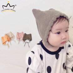 Mũ Len Dệt Kim Ren Màu Trơn Mũ Len Mùa Thu Mùa Đông Ấm Áp Cho Trẻ Tập Đi Trẻ Sơ Sinh Mũ Lưỡi Trai Bé Gái Đan Móc Mềm Dễ Thương