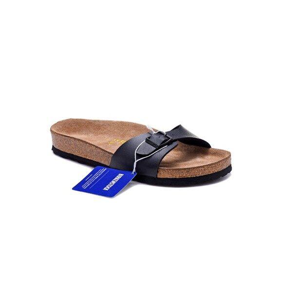 Gốc Birkenstocks Nút Chai Dép Phụ Nữ Casual Bãi Biển Dép Sandal Chà Màu Xanh giá rẻ