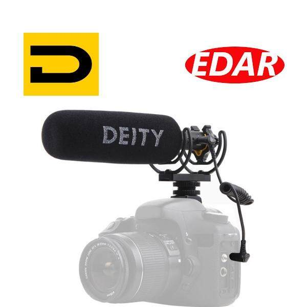 Deity Microphones V-Mic D3 Supercardioid On-Camera Shotgun Microphone With Rycote Suspension By Foto Edar.