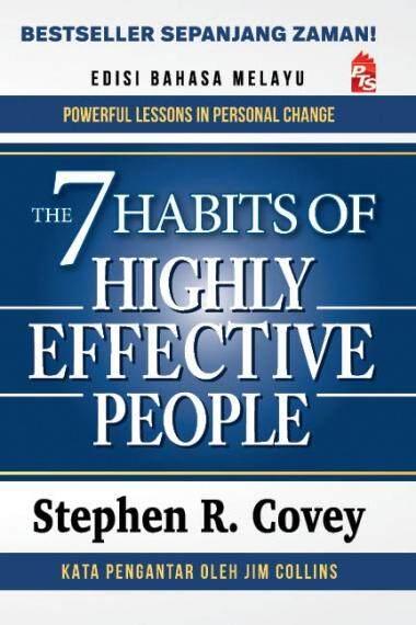 The 7 Habits Of Highly Effective People - Edisi Bm By Suka Buku.