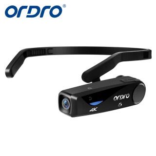 Camera Gắn Đầu ORDRO EP6 4K Máy Quay Mini HD Đeo Được, Máy Ghi Hình Vlog 1080P 60FPS Camera WiFi Cầm Tay Nhẹ Webcam Dành Cho Video Trên YouTube thumbnail