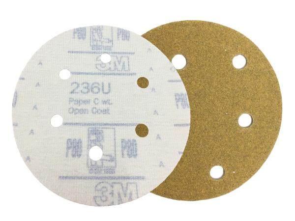 P80/120/240/320 6 Inch 6 Holes Wet Dry Disc Sand Abrasive Paper 10pcs